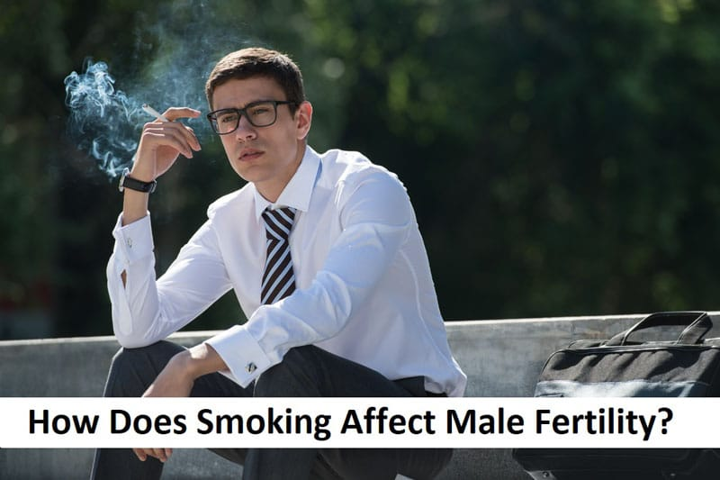 How Does Smoking Affect Male Fertility