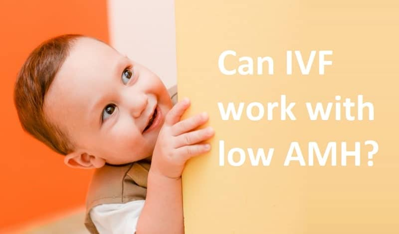 Can IVF work with low AMH