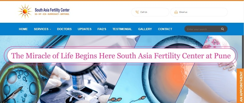 South Asia Fertility Center, Best IVF Centre In Pune