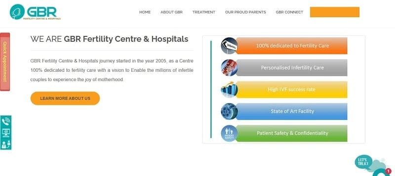 GBR fertility centre and hospitals, Chennai - best surrogacy centre in Chennai